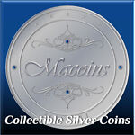 Macoins.Collectible Silver Coins.