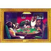 Dogs Playing Poker Print