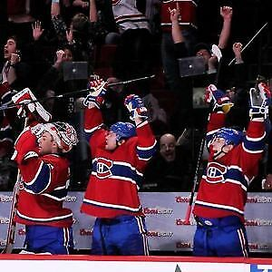 BILLETS TICKETS CANADIENS HABS MONTREAL