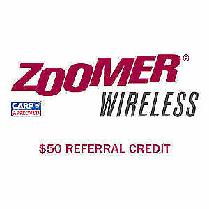 Zoomer Wireless $50 Referral credit