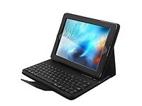 """Leather Case For iPad Pro 9.7"""" & Bluetooth Keyboard"""