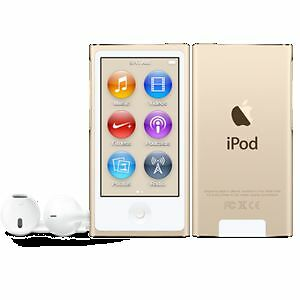 iPod nano 7th generation, 16GB, Neuf, Or-Gold, Seulement 125$