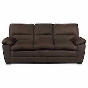 Chocolate Couches two Pieces extended warranty $800!!!!!