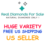 REAL DIAMONDS ON SALE USA SELLER