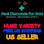 REAL DIAMONDS ON SALE USA SELLER