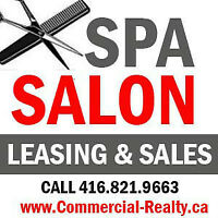 Buy and Sell Salons and Spas in GTA. Call Us