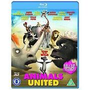 Animals United 3D Blu Ray