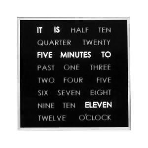 Light up clock ebay light up wall clocks aloadofball Images