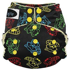 Imagine Bamboo All-in-One cloth diapers! Strathcona County Edmonton Area image 4