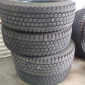 265/70R16 BRIDGESTONE BLIZZAK SET OF 4 USED TIRES $95 tread left