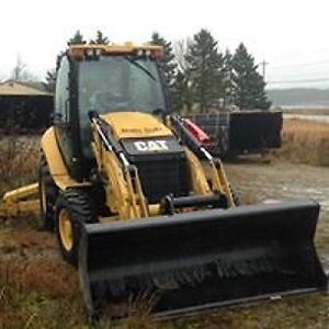 2013 Caterpillar 420FIT Backhoe Loader (plow included)