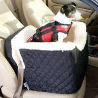 Almost new Dog Car Booster Seat with strap and harness
