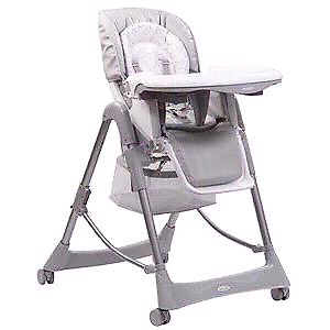 Steelcraft Messina high and low chair as good as new