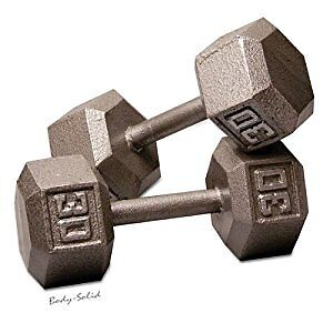 LOOKING for Hex Dumbbells, Curl Bar, 45lb Plates, Plate Rack