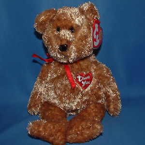Thank You the Bear Ty Beanie Baby (Beanie of the Month) Kitchener / Waterloo Kitchener Area image 1