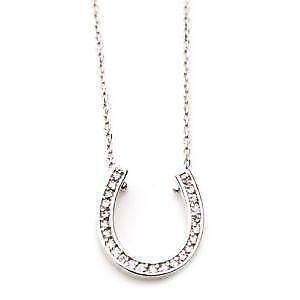 Diamond Horseshoe Necklaces 36ce3479f167