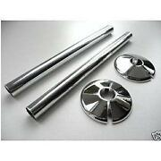 Chrome Pipe Covers