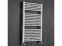WHITE TOWEL RAILS 50% OFF - CLEARANCE / HALF PRICE SALE - ONLY £35.00