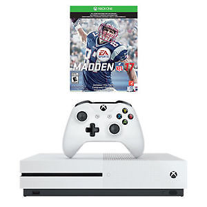 Xbox One S Console 1TB Madden 17 Bundle – LIMITED TIME OFFER -