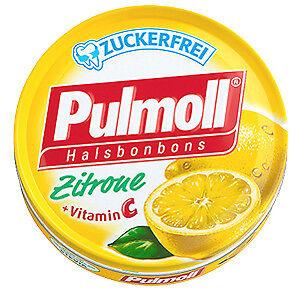 PULMOLL Hustenbonbons Zitrone + Vit.C zf. 50g PZN 03342646