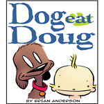 Dog eat Doug comic art shop
