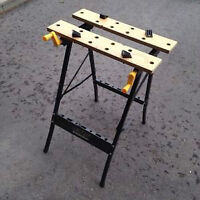 Work Bench- Saw Horse, New Condition 2 available