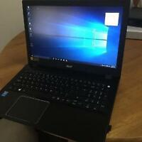 New Acer Laptop ASPIRE F-5  (with warranty bought in December)!