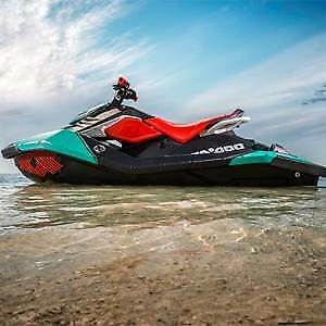 DEMO Seadoo Spark TRIXX inc Trailer
