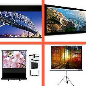 Weekly Promo! eGalaxy Motorized projector screen,Fixed frame projector screen,Tripod projector Screen from $149 and up.