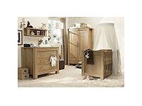 BabyStyle Bordeaux 4-Piece Nursery Furniture Room Set
