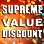 Supreme Value Discount