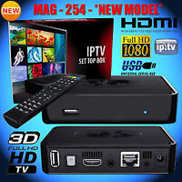IPTV MAG 254 BOX ON SALE INDIAN LOCAL ENGLISH CHANNELS