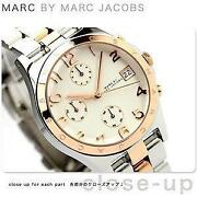 Marc Jacobs Two Tone Watch