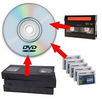 Video to DVD/Digital Conversion: $10/tape