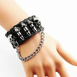 SKULL & BULLETS BRACELET BRAND NEW HIGH QUALITY LOW PRICE