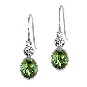 in earrings valltasy dangle silver intensia design watermelon the tourmaline