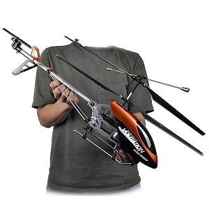 New Double Horse 9053 3.5CH Large Outdoor RC Metal Helicopter with GYRO