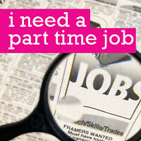 Looking for Part-time Job after 4pm weekdays!!!!!!!!!!!!