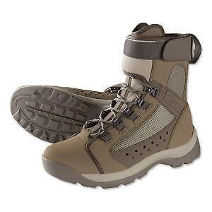 Flats wading boots fishing ebay for Wading shoes for fishing