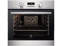 NEW Electrolux EOB3400AOX S/Steel Single Fan Oven - BARGAIN PRICE @ £250