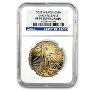 PF70 Gold Eagle NGC