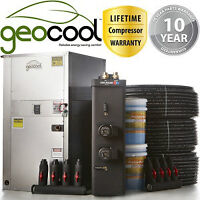 Complee DIY GeoThermal Heater Package 3.0 tonne for ground loop