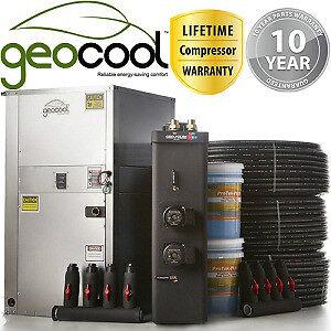 Complee DIY GeoThermal Heater Package 3.0 tonne for ground loop
