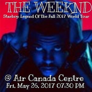 The weekend at Air Canada center