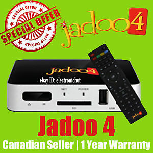 JADOO TV 4 WITH FULL 1 YEAR WARRANTY ------ BRAND NEW