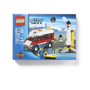 LEGO Satellite Launch Pad - RETIRED and FACTORY SEALED