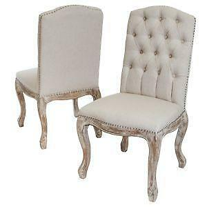 Antique Carved Wood Chairs