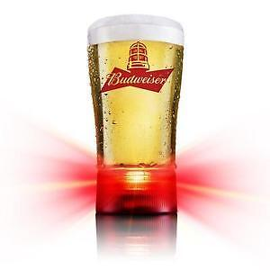 Budweiser Goal-synced glass (1 pint)