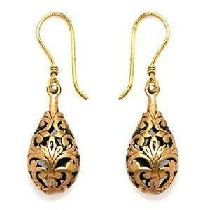 Antique Rose Gold Earrings