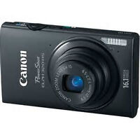 CANNON POWERSHOT ELPH 320HS TOUCHSCREEN WITH LEATHER CANNON CASE